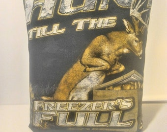 Whitetail deer hunting pillow