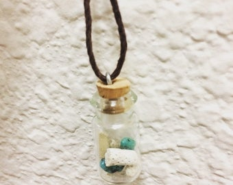 Treasure in a Bottle Necklace