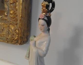 Stylized beautiful Chinese figurine