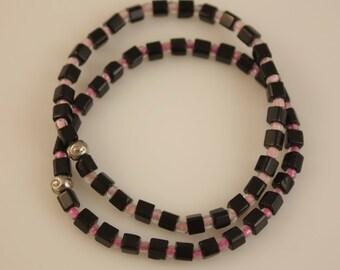 Glass beaded bracelets - set of 2