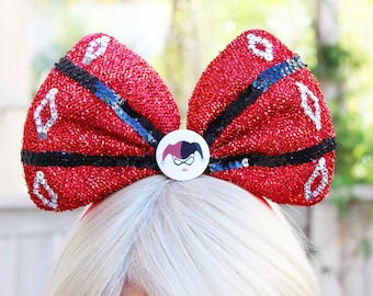 Harley Quinn Cosplay • Headband Bow • Mickey Mouse Ears • Harley Costume • Joker and Harley • Mad Love • Suicide Squad • Jacket • Dress