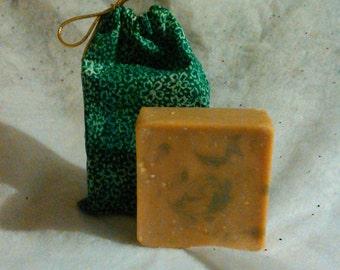 Eucalyptus and Tea Tree Oil all Natural Goat's Milk Soap