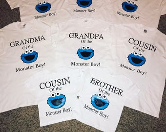 Elmo Family Shirts