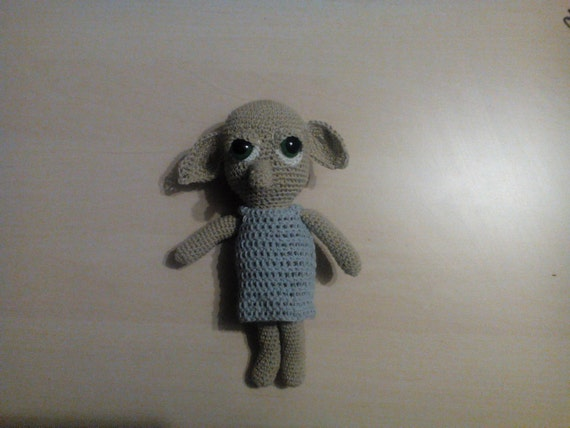 Dobby Harry Potter Amigurumi : Dobby the house elf amigurumi croheted toy harry potter