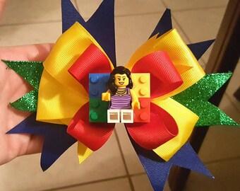 Lego Hair Bow