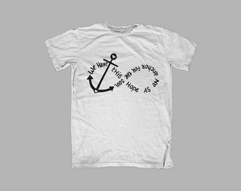 Hope anchor soul graphic tee