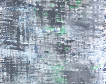 Original Abstract Painting, Acrylic on canvas, Abstract Painting Modern, Art Cool Painting Home Decor Wall Art Gray Painting Modern Painting