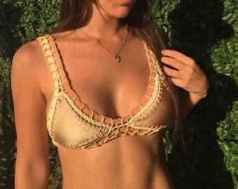 Golden Nude bikini