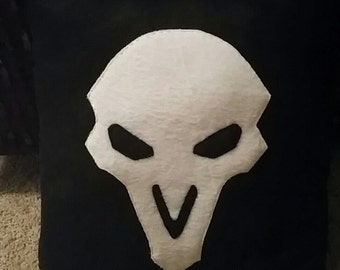 Overwatch Reaper Pillow