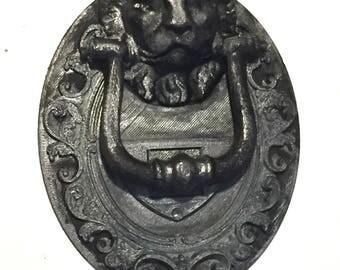 Italian lion door bell frame