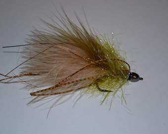 GD Sculp Snack, Handmade Flies, Trout Flies, Fly Fishing, Flies