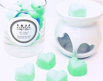 PEPPERMINT & EUCALYPTUS, highly scented soy wax melts