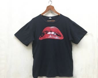 Vintage Rocky Horror Picture Show Shirt / Movie Tees / Punk Rock / Tour