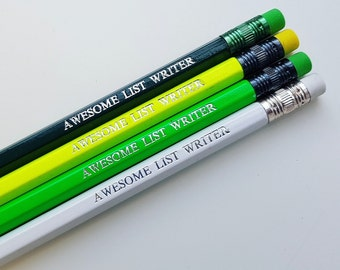 Awesome List Writer Pencil
