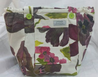 Beautiful and Unique Vegan Handmade Shoulder Bag