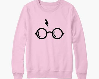 Harry Potter glasses Wizard birthday gift sweater