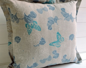 Decorative butterflies, modern design, pillow, throw pillow, decorative pillow,