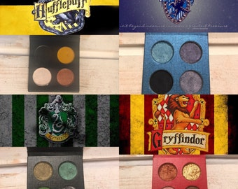 Clearance  !!Harry Potter House Pride eyeshadow Palettes value pack