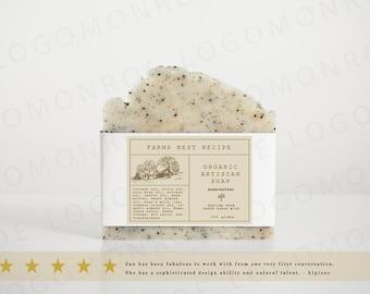 Soap Logo, Soap Label, Premade Soap Logo, Premade Soap Label, Label, Premade Label, Custom Label, Custom Logo, Custom Soap Logo, Artisian