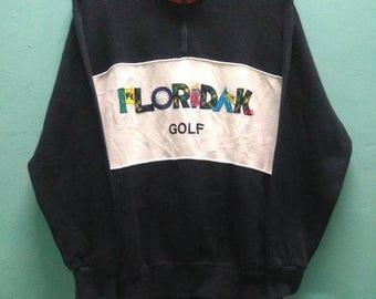 SALE 10 % Vintage Florida Keys Golf Sweatshirt