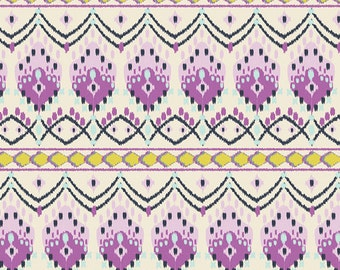 Baja Weave in Mauve - bari j. cotton fabric