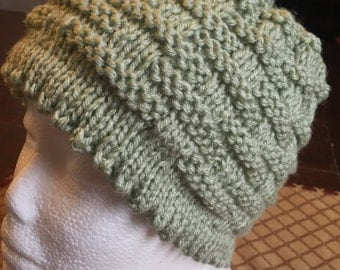 115 frosty green hat 115