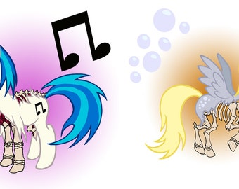 Zombie PON3 and Derpy