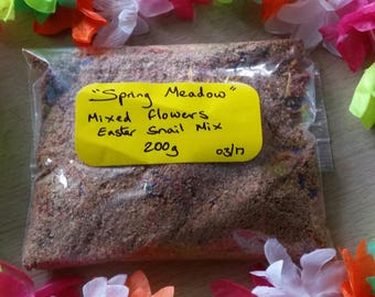 Spring Meadow Snail Mix 200g bag