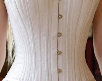Victorian Corset, 1860s Corset