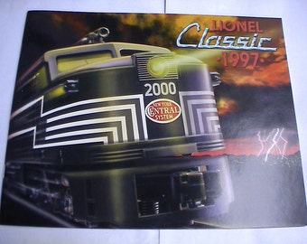Mint Lionel Toy Train Catalog 1997