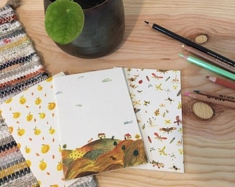 A6 notebooks blank