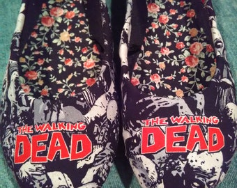 The Walking Dead Custom Made Flats!