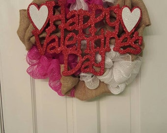 Valentines day wreath/ love wreath/ Valentine's day/ February/Love/ holiday wreath