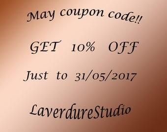 May coupon code, Coupon code, Sale, Holiday Sale, Discount, Saving Coupons, Choose right Coupon Code at Checkout!