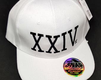 Bruno Mars XXIV Embroidered Unofficial Snapback Cap New