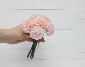 Bouquet of 6 flowers  Artificial flower bouquet Fake flowers Bouquet Artificial flowers bouquet Aster bouquet