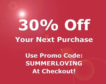 30% Off Your Next Purchase (Exclusions Apply)