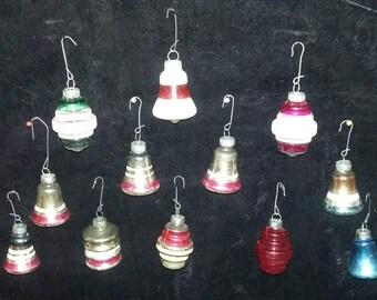 Vintage Ornaments. Vintage Glass Christmas Ornaments.