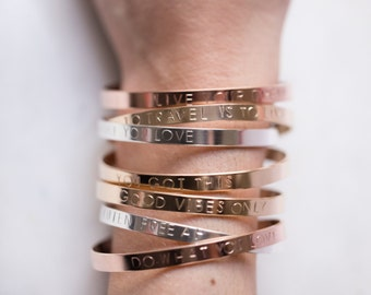 custom cuff by minted motto