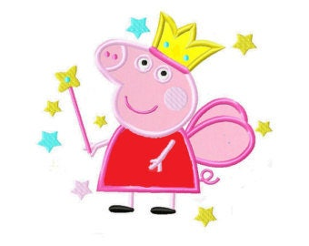 Peppa pig machine embrooidery design xxx  ,pcs, pes, jef,hus, exp,dst,sew,vip , vp3