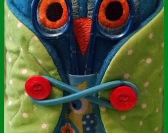 Cute Owl Sewing Caddy, Sewing, Pin Cushion, Owl