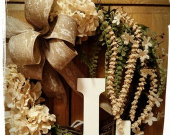 Monogram Wreath. Perfect for gifting.