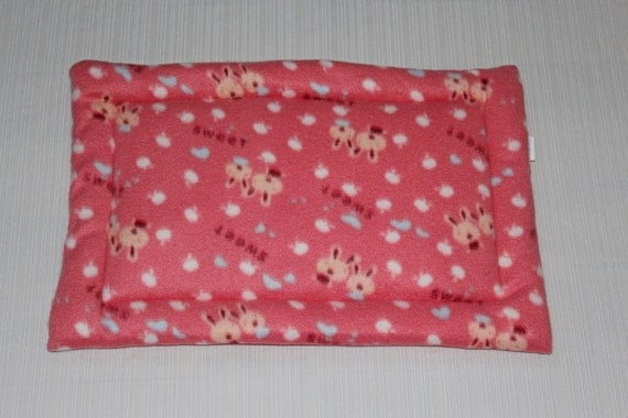 Pet bedding, pet pillow, guinea pig gift, hamster bed, pet bed, new pet gift, rabbit, chinchilla cage accessories, small animal bed