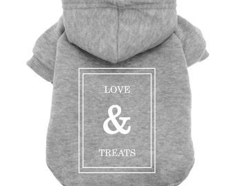 Love and Treats - Dogue - Vogue - Pet Shirt - Dog Hoodie - Dog Tee - Pet clothes - Dog apparel - dog shirt - dog sweatshirt - puppy shirt
