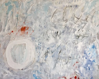 Original Abstract Mixed Media Painting, interior design, art