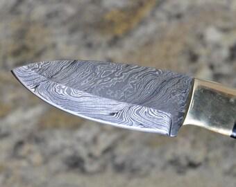 Damascus Hunting & Skinning Knife