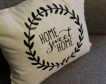 Home Sweet Home Small Decorative Pillow