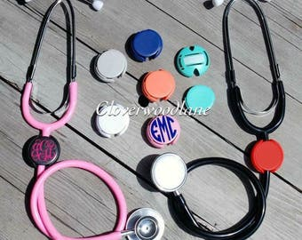 Stethoscope Name Tag ID Covers, Personalized stethoscope Name Tag, Stethoscope Name Tag