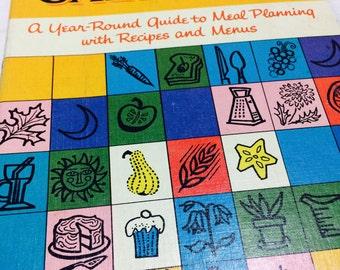 Betty Crocker's Cooking Calendar , Betty Crocker, Vintage cookbooks, American recipes