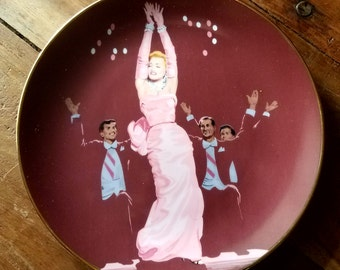 Marilyn Monroe Plate - Gentlemen Prefer Blondes